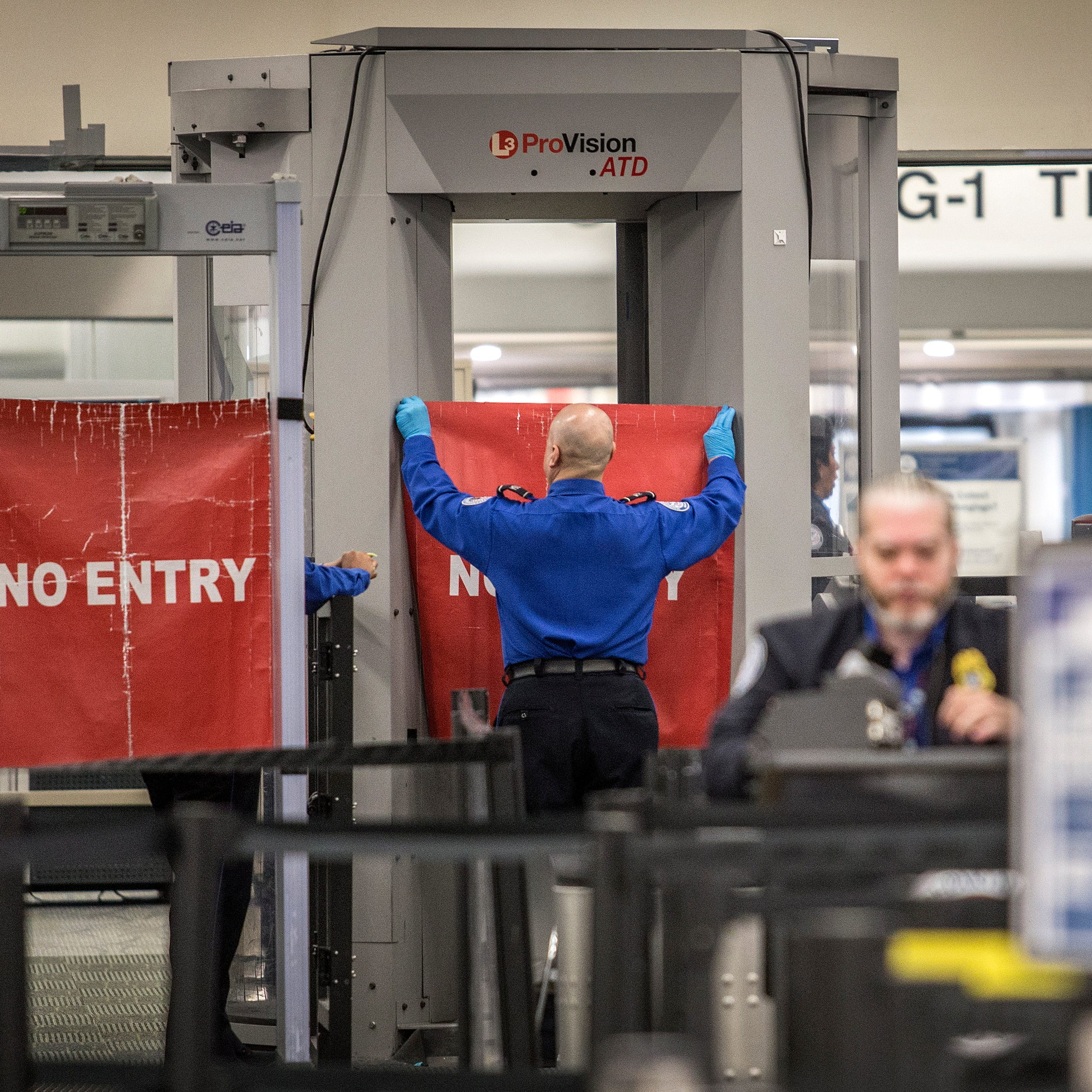 Flying? The government shutdown is affecting these airports
