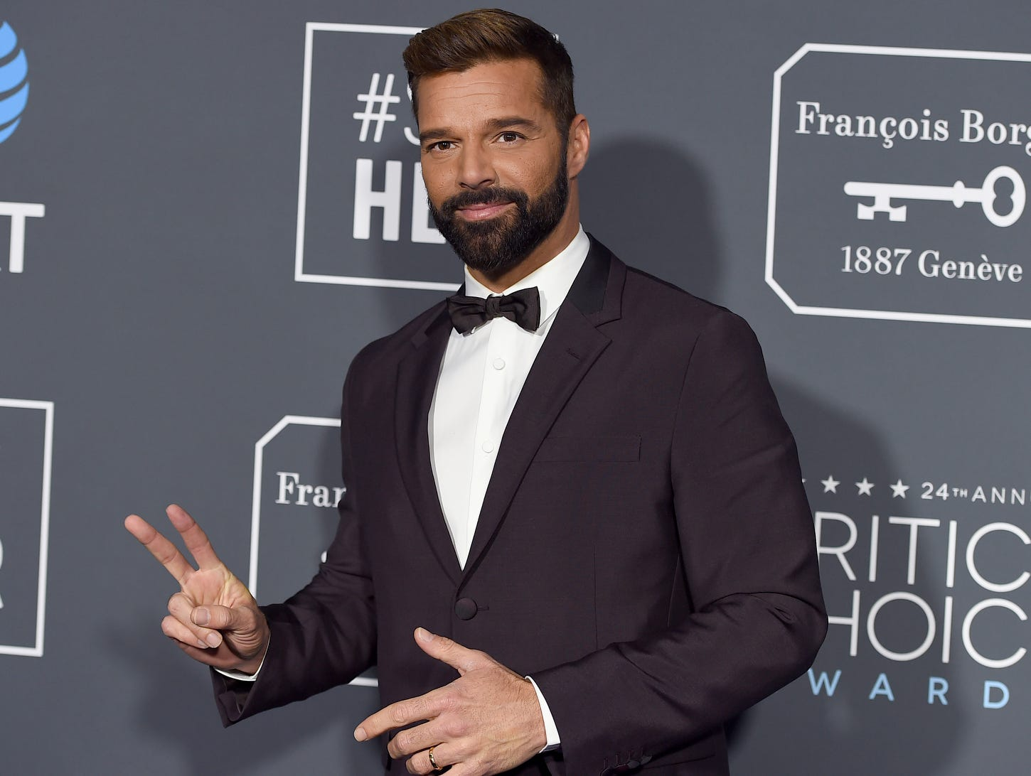 Ricky Martin comes in peace.
