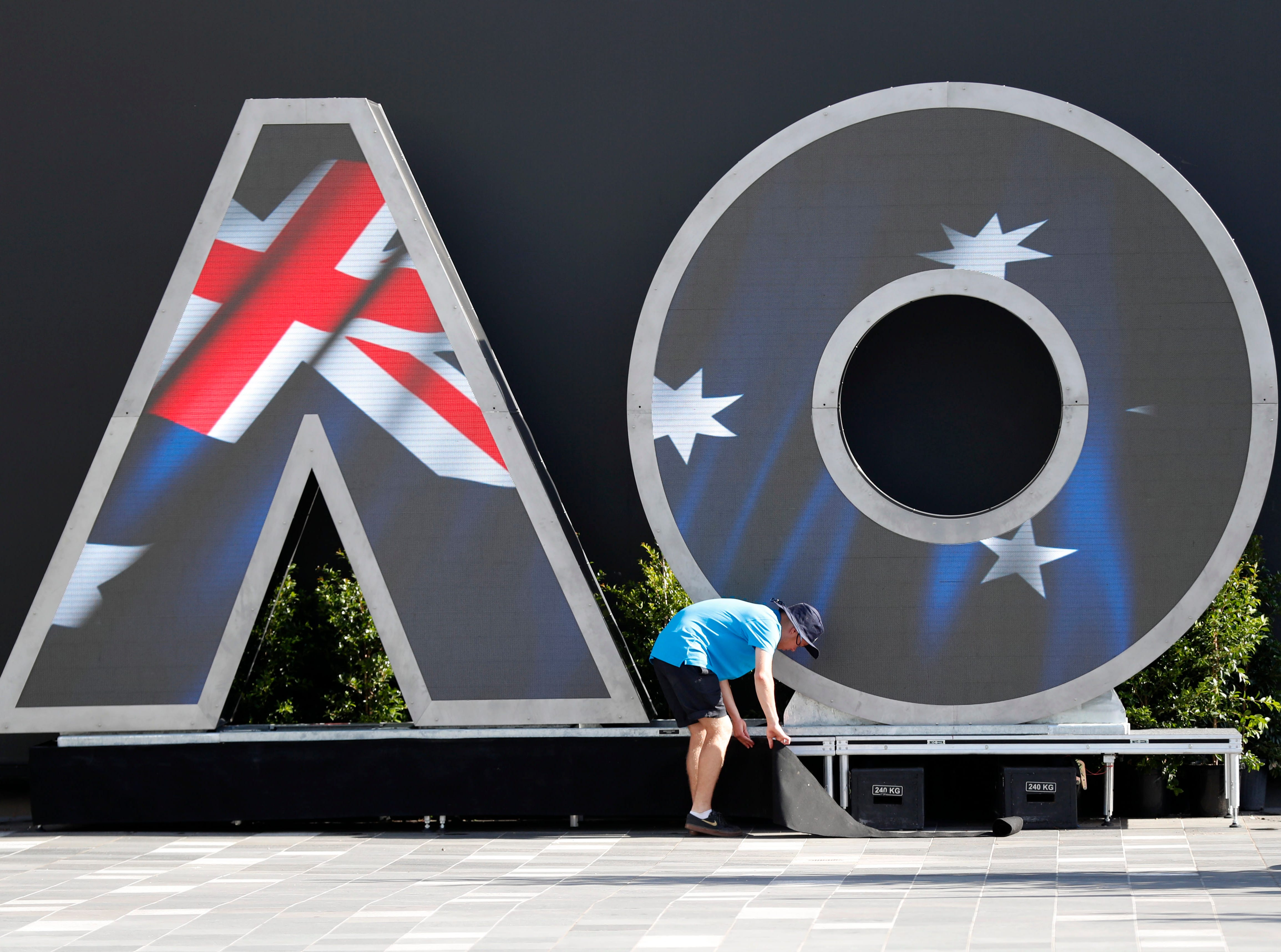 The Australian Open, the year's first Grand Slam tournament, runs through Jan. 27.