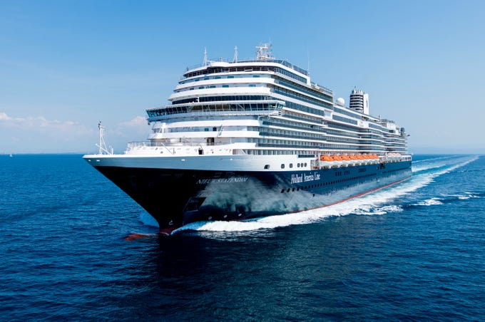 Introduced in December 2018, Holland America Line's 99,500-gross-ton, 2,666-guest Nieuw Statendam is the second in what will be four Pinnacle Class ships. It joins the nearly identical Koningsdam, which debuted in 2016.