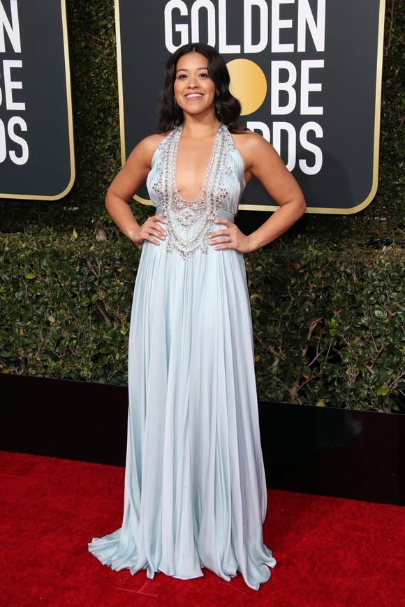 Yep, Gina Rodriguez almost got married in this glam gown.