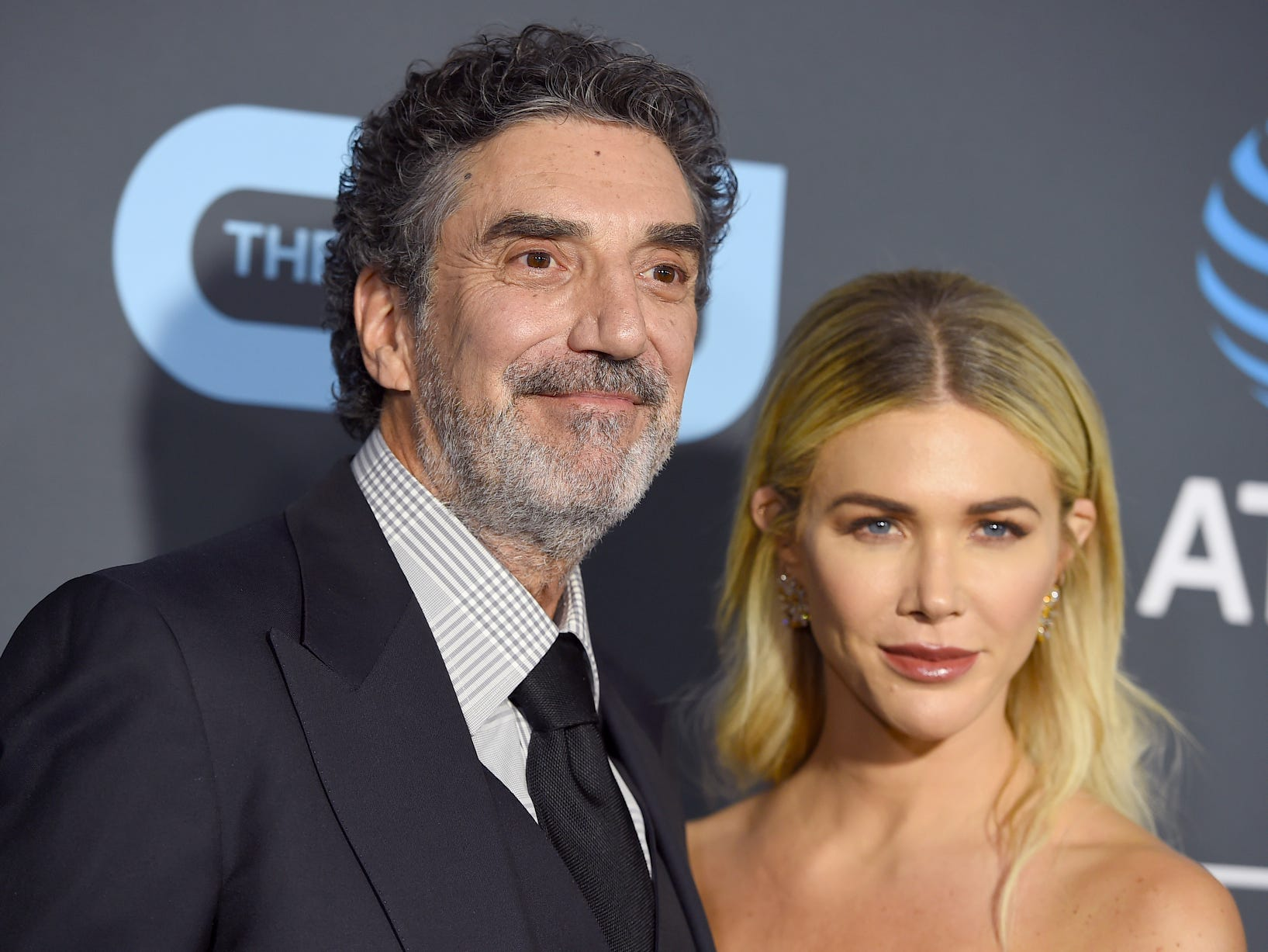 Chuck Lorre and Arielle Mandelson