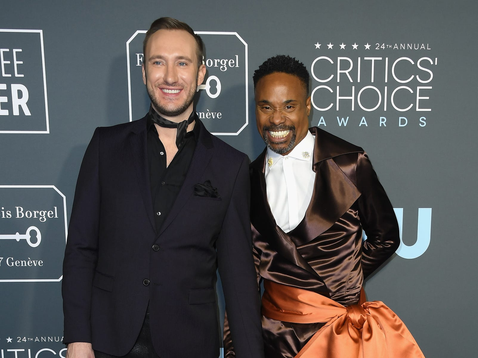 Adam Smith (L) and Billy Porter