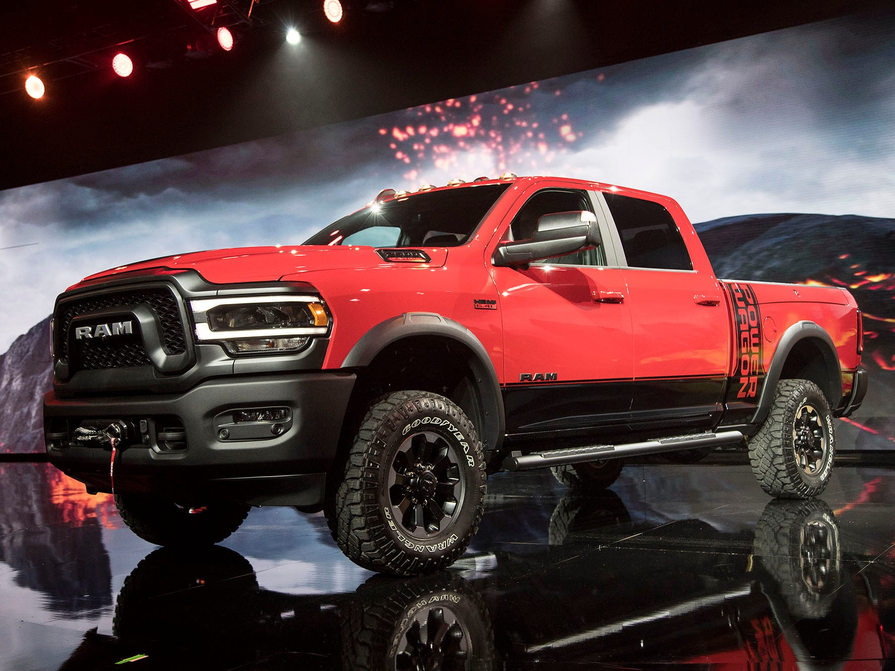 Ram debuts the 2019 2500 Power Wagon truck.