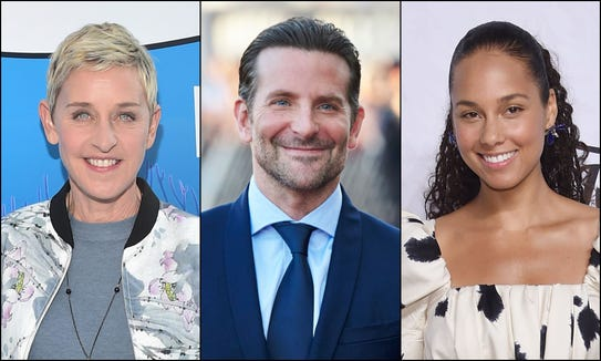 Ellen DeGeneres, Bradley Cooper and Alicia Keys are among the many celebrities who were born in January.