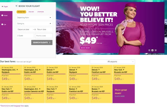 Wow Air Sale Fares To Europe For 49 One Way What S The Catch
