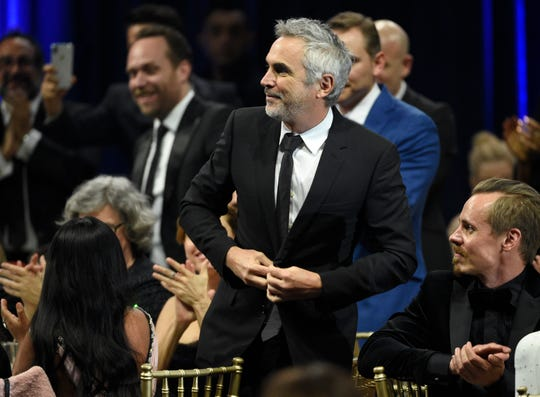 "Alfonso Cuaron won several awards for his film ""Roma,"" including for cinematography and best director."
