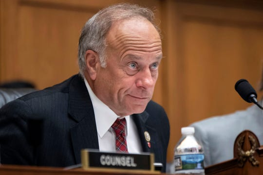 In this June 8, 2018, file photo, Rep. Steve King, R-Iowa, appears at a hearing on Capitol Hill in Washington.