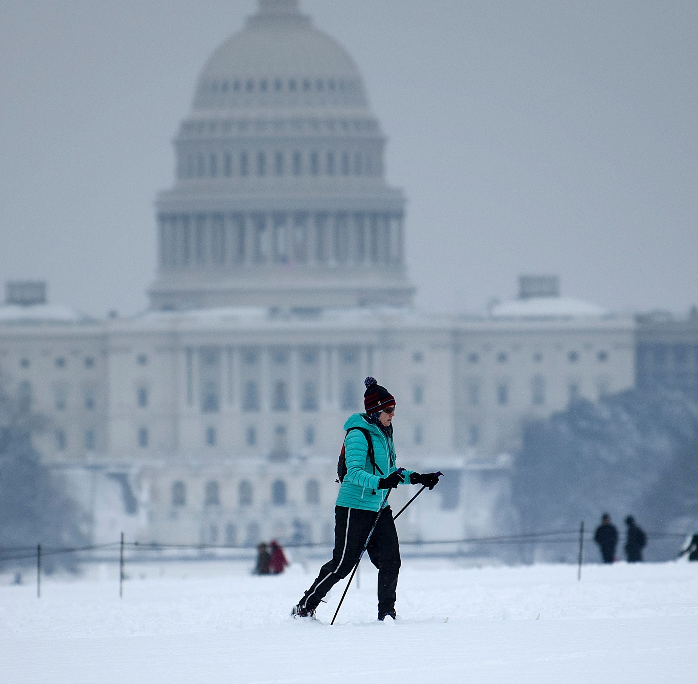 US Capitol on 23rd day of government shutdown, Washington, DC, Jan. 13, 2019.