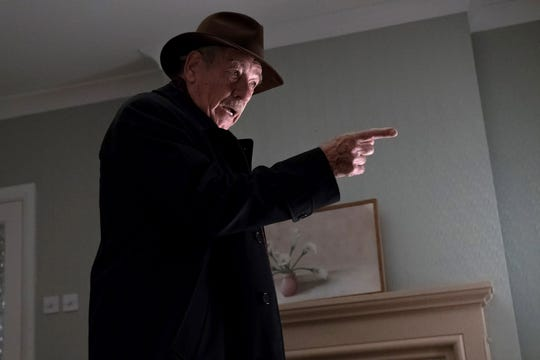 """The Good Liar"" lets Ian McKellen play the kind of villain he does ""so brilliantly,' says director Bill Condon."