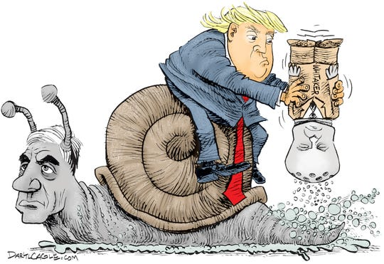 Trump, Mueller and Whitaker
