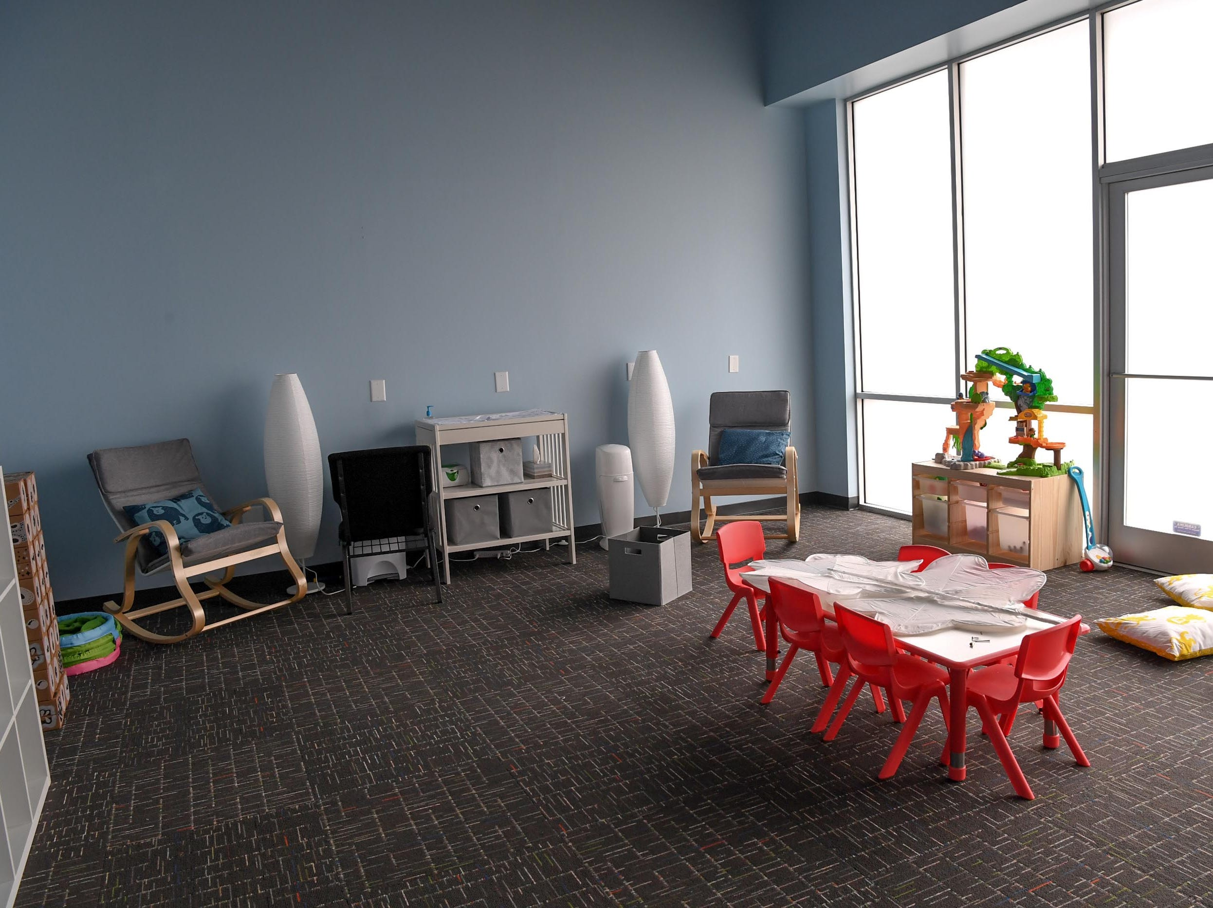 A children's room inside Second Chance Church in Anderson. The church holds its first service on January 27.