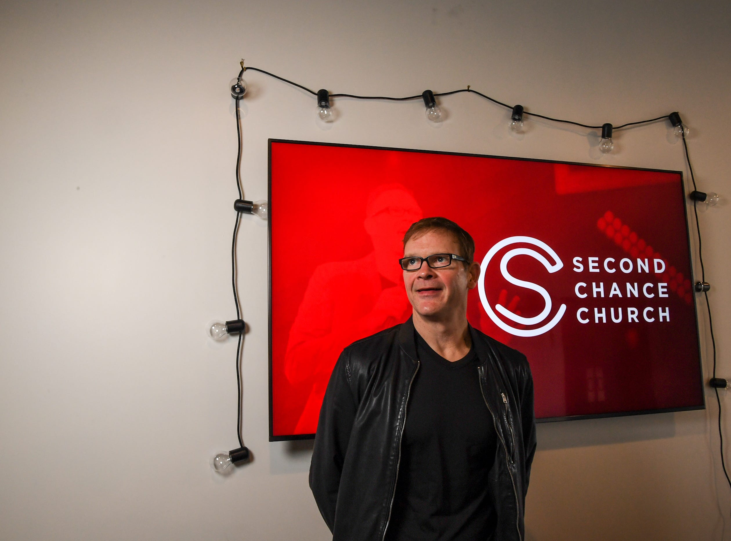 Perry Noble and staff open doors for their first service at Second Chance Church at 140 Commons Parkway in Anderson on January 27.
