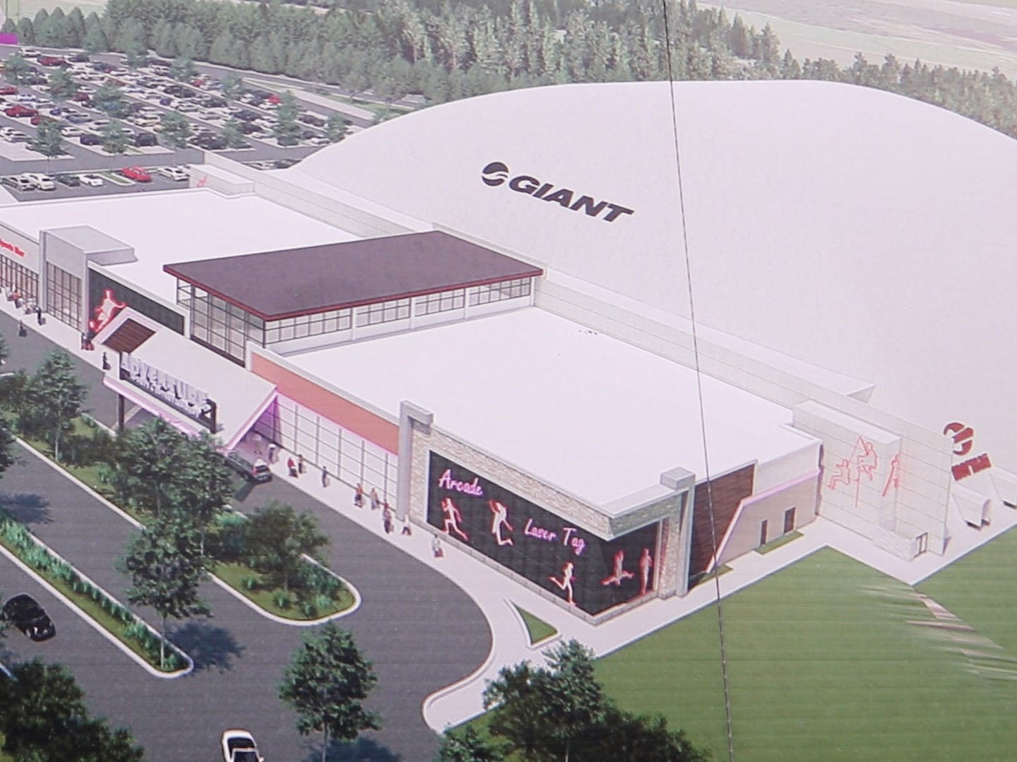 Copy photographs of renderings and design work. Adventure Sports & Entertainment is under construction in Jackson. The $500 million project to bring a youth sports venue to approximately 300 acres of land between Interstate 195 and Six  Flags Great Adventure will soon move to its next phase. Jackson, NJTuesday, January 15, 2019