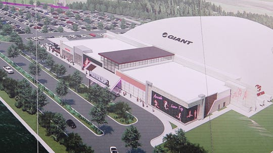 Copy photographs of renderings and design work. Adventure Sports & Entertainment is under construction in Jackson. The $500 million project to bring a youth sports venue to approximately 300 acres of land between Interstate 195 and Six  Flags Great Adventure will soon move to its next phase. 