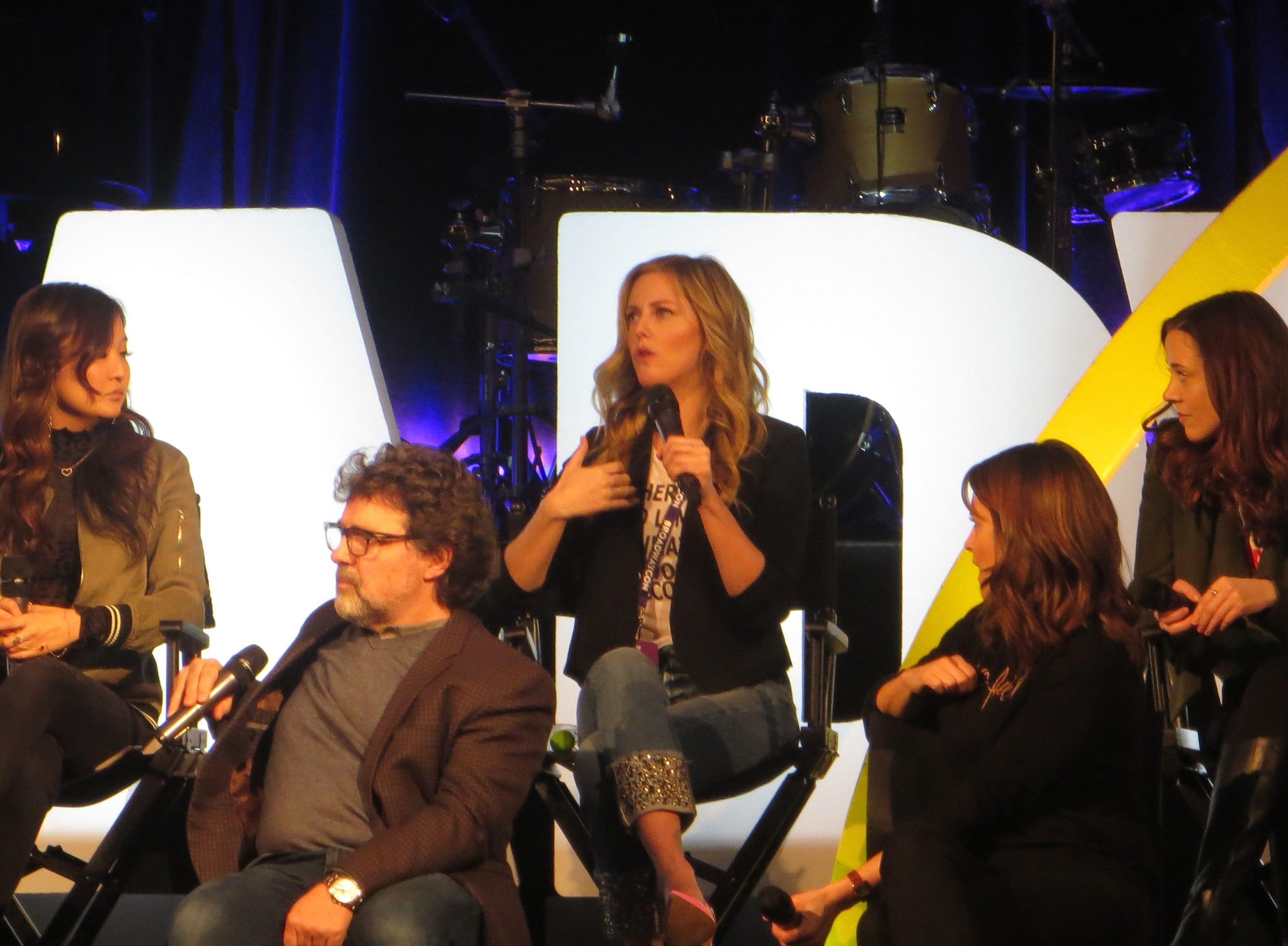 """A spotlight on """"Mean Girls"""" at BroadwayCon 2019, held Jan. 11 to 13, 2019, at the New York Hilton Midtown in Manhattan."""