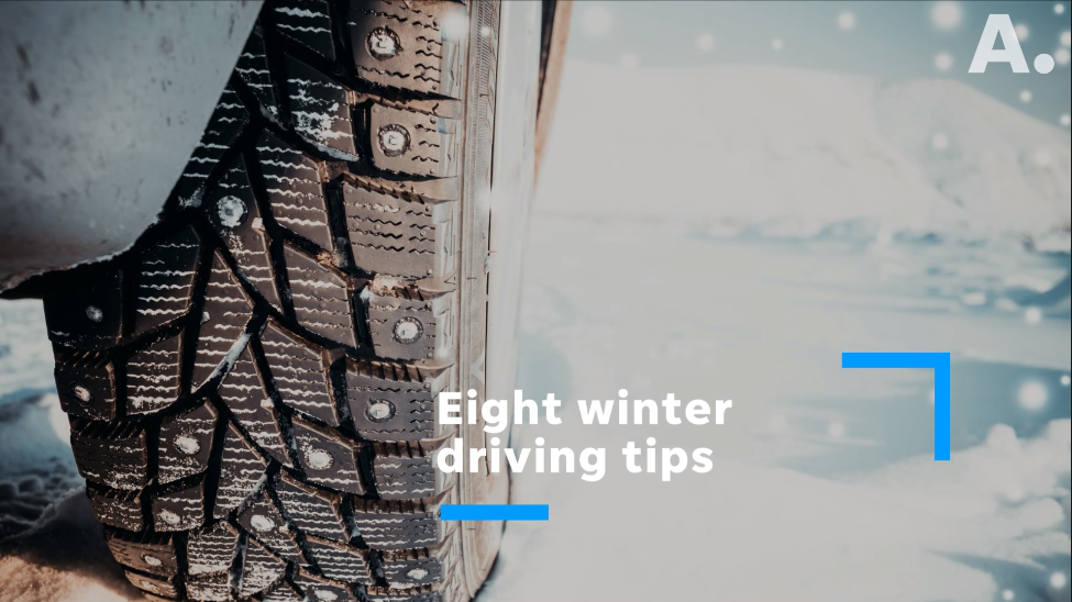 Eight winter driving tips