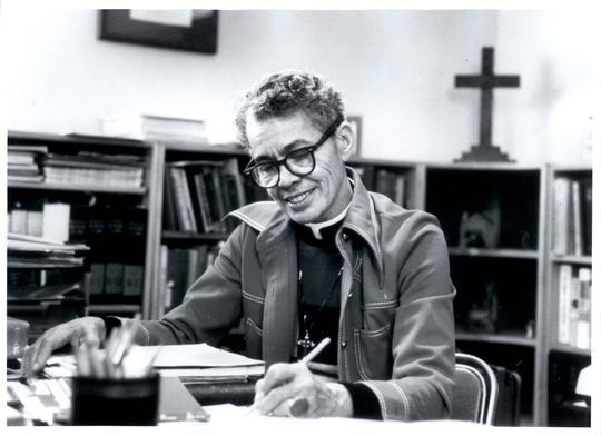 An undated photo of Pauli Murray from the UNC Library archives.