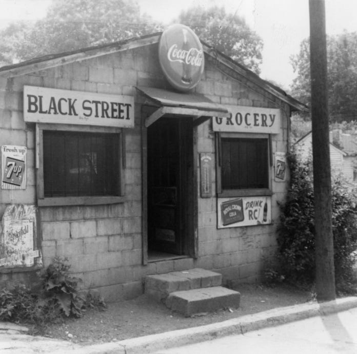 Visiting Our Past: The street scene was pastored in African-American community