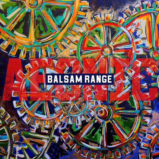 "Nancy Hilliard Joyce's painting ""Inner Workings"" is the cover of Balsam Range's new album ""Aeonic."""