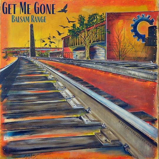 "Nancy Hilliard Joyce's painting ""Blackbirds"" was  the cover of Balsam Range's single ""Get Me Gone."""