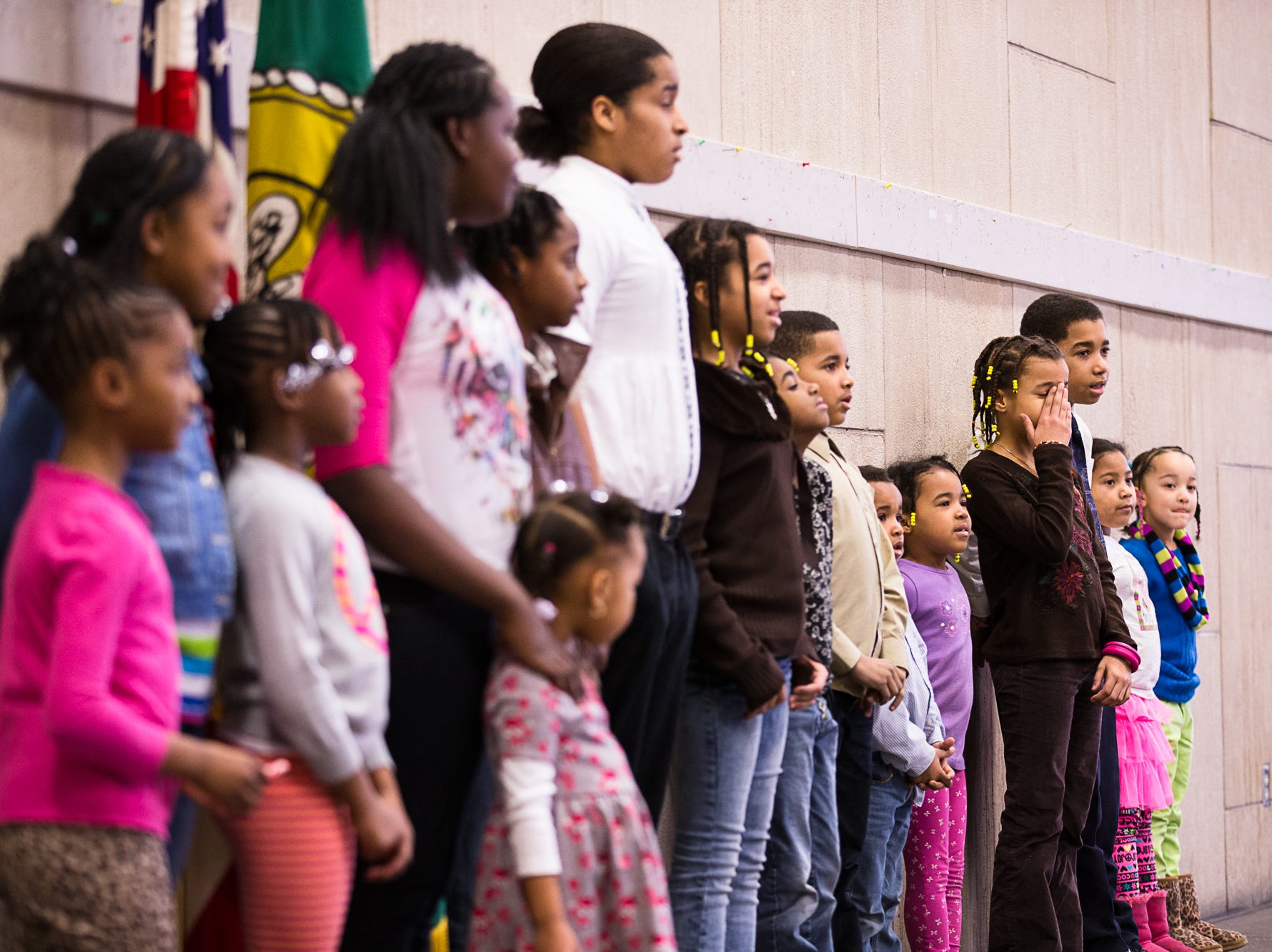 2014: The Youth Choir from Trinity A.M.E. Zion Church performs.  The NAACP Broome/Tioga chapter celebrates Martin Luther King Jr. Day at the Binghamton City Hall.