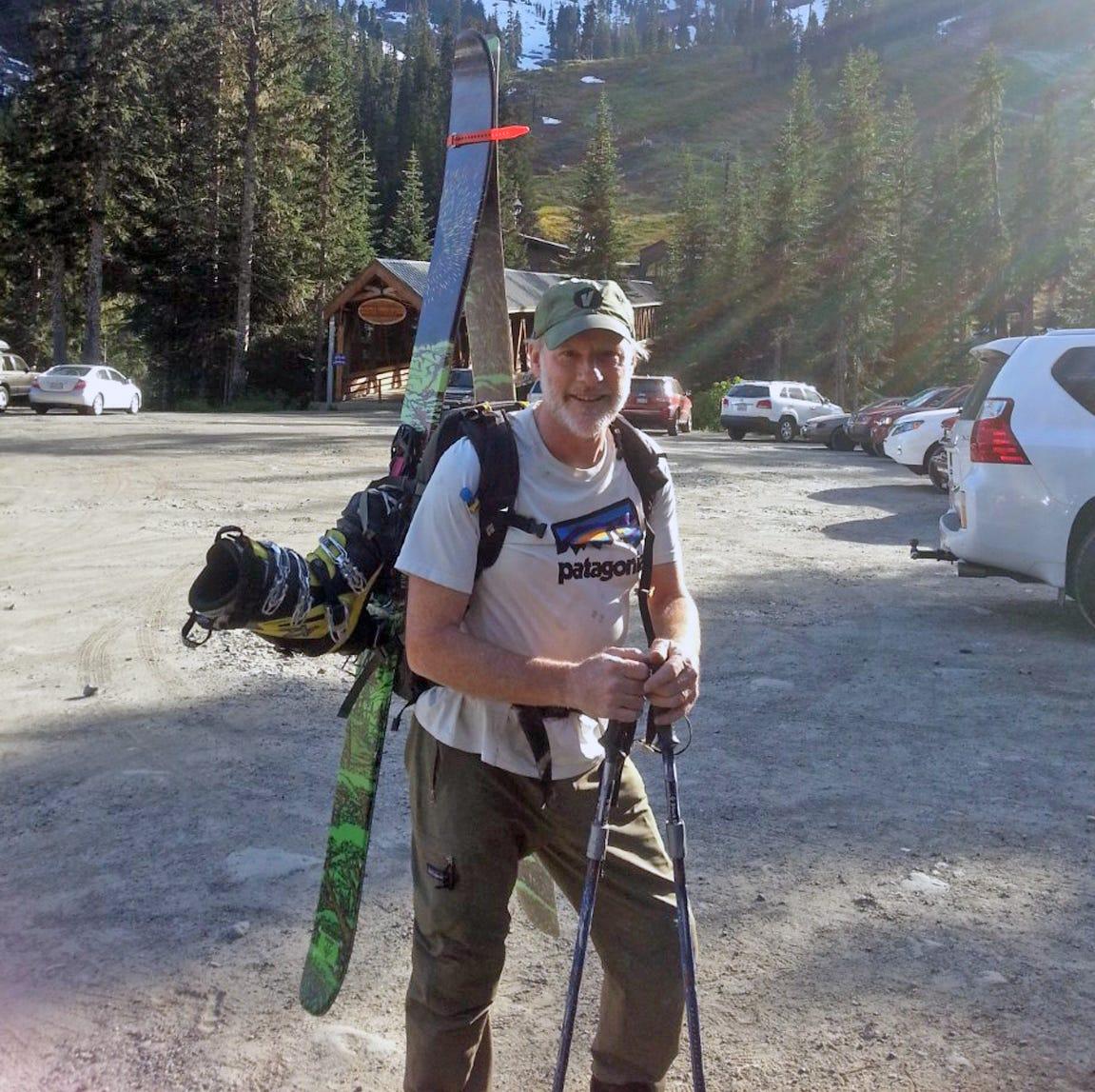Terry Mosher: Mack Johnson still has mountains to climb ... and ski down