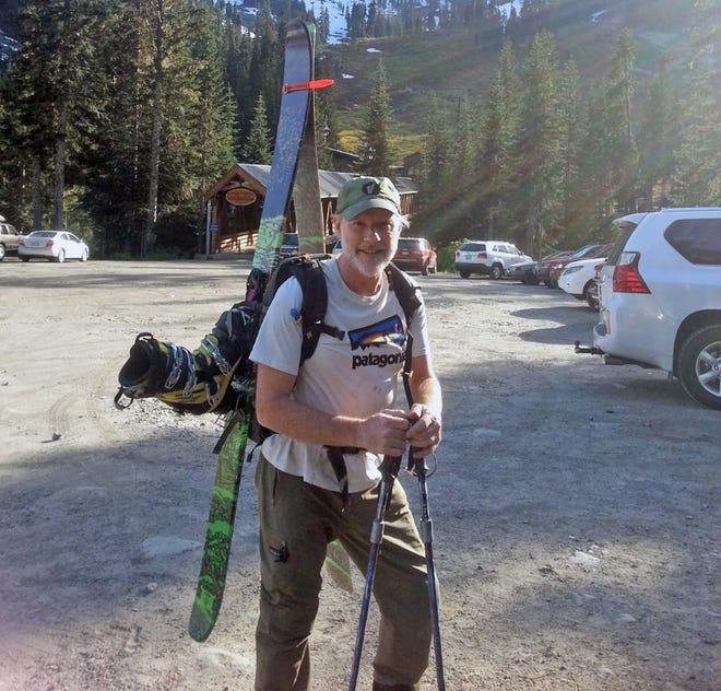 Mack Johnson at Alpental in June