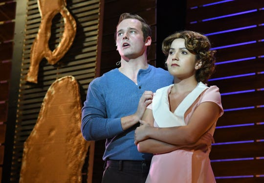 Bonnie & Clyde, a musical drama starring Olga Intriago and Cameron Elliott, as the notorious 1930s outlaw duo, will be performed at the Hangar Center of the arts January 18- February 3. The play contains some language and violence.