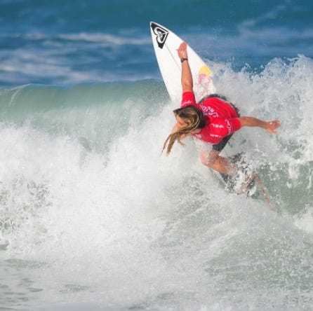 Marks, Florida Pro surfers turn up heat on chilly opening day