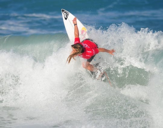 Melbourne Beach native Caroline Marks, then 16, won her second consecutive Florida Pro title in January at Sebastian Inlet.