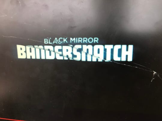 "The title screen for Netflix's ""Black Mirror: Bandersnatch."""