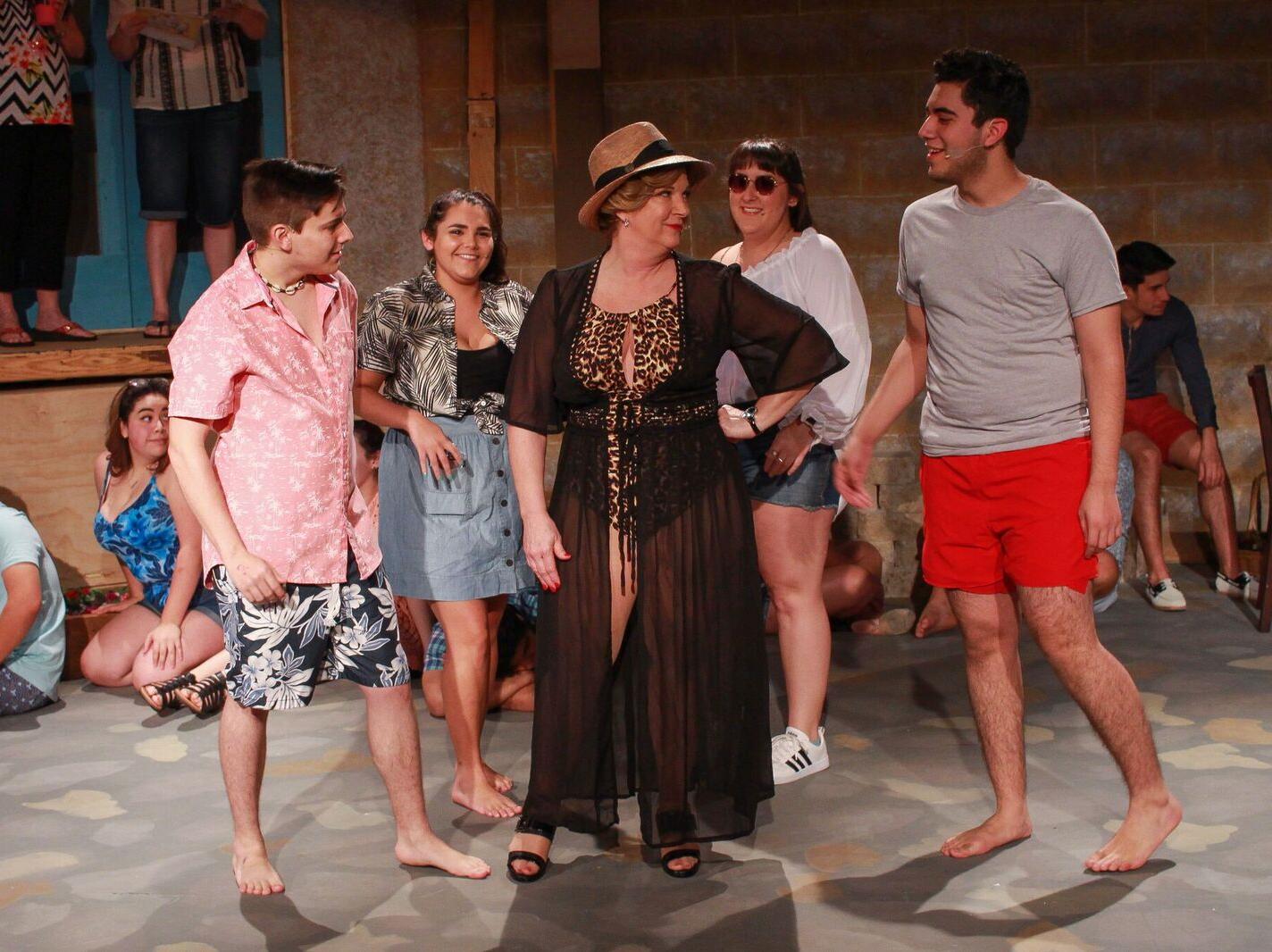 """""""Mamma Mia!"""" the musical will open Friday at Aurora Arts Theatre. The performances will continue through March 3."""