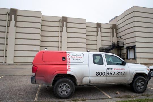 An pest control company was at the AMC Corpus Christi on Tuesday, January 15, 2019.