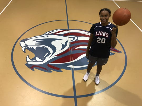 LEAP Academy senior Brazil Harvey-Carr in on pace to score her 2,000th point later this season. She'd be the 28th girl in South Jersey history to reach that mark.
