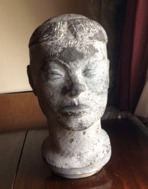 An unfinished sculpture of a Sudanese woman by Nathaniel Choate has cultural significance, according to the Cherry Hill Police Department. The department, along with the FBI's Art Crime Team is investigating the theft of the art.