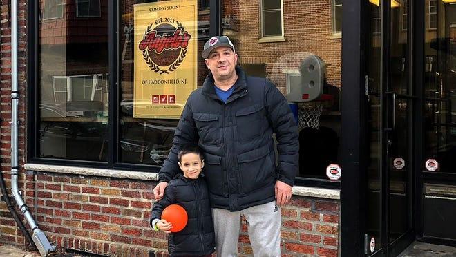 Danny DiGiampietro and his son (and restaurant's namesake) Angelo DiGiampietro.