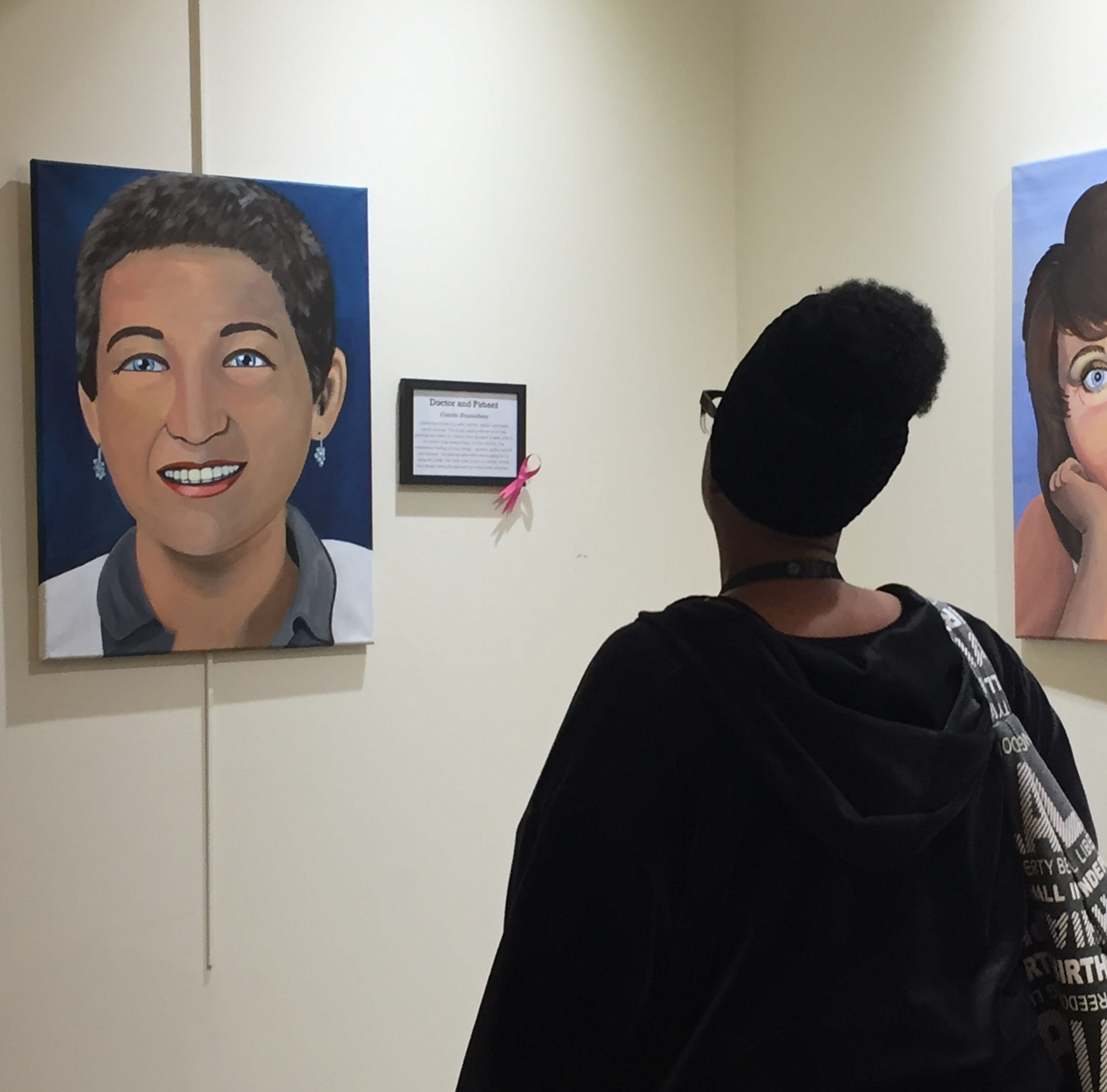 Artist painting 'Faces of Cancer' doesn't live to see her exhibit