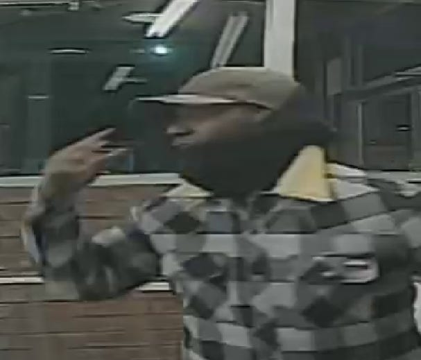 Police are seeking this suspect in connection with a robbery Monday at a Rite Aid store in Penns Grove.