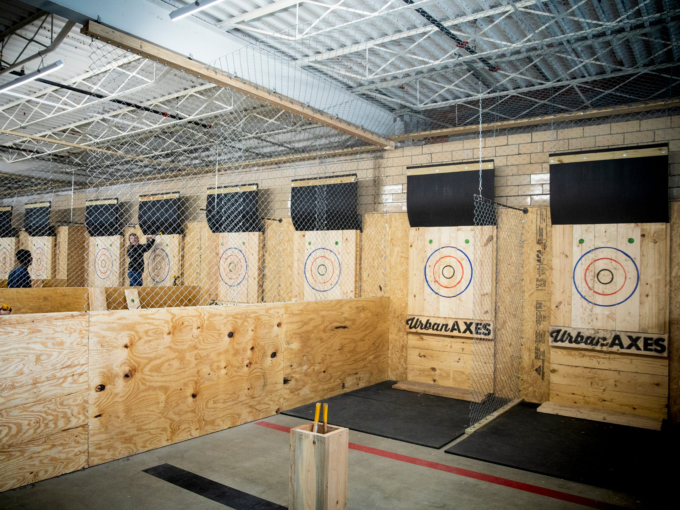 Urban Axes Cincinnati will open on Elm Street in Over-the-Rhine Friday, January 25, 2019. Patrons must be at least 21 years of age and fill out a waiver to participate.