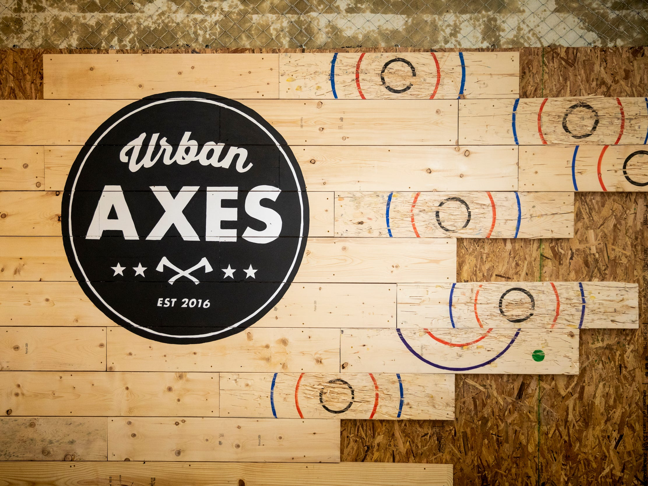 Urban Axes Cincinnati will open next to Rhinegeist Brewery on Elm Street in Over-the-Rhine Friday, January 25, 2019.