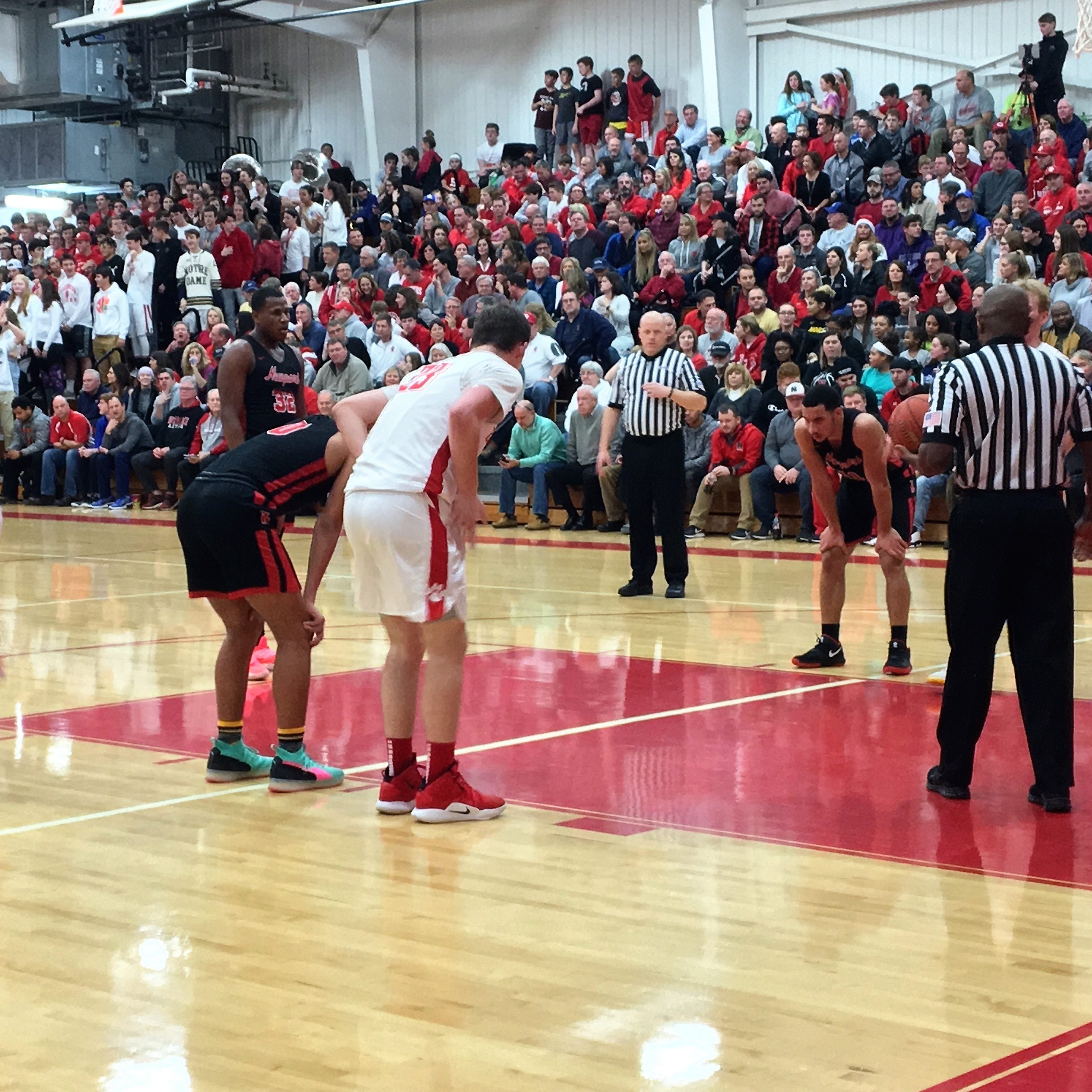 A standing-room only crowd watched Beechwood and...