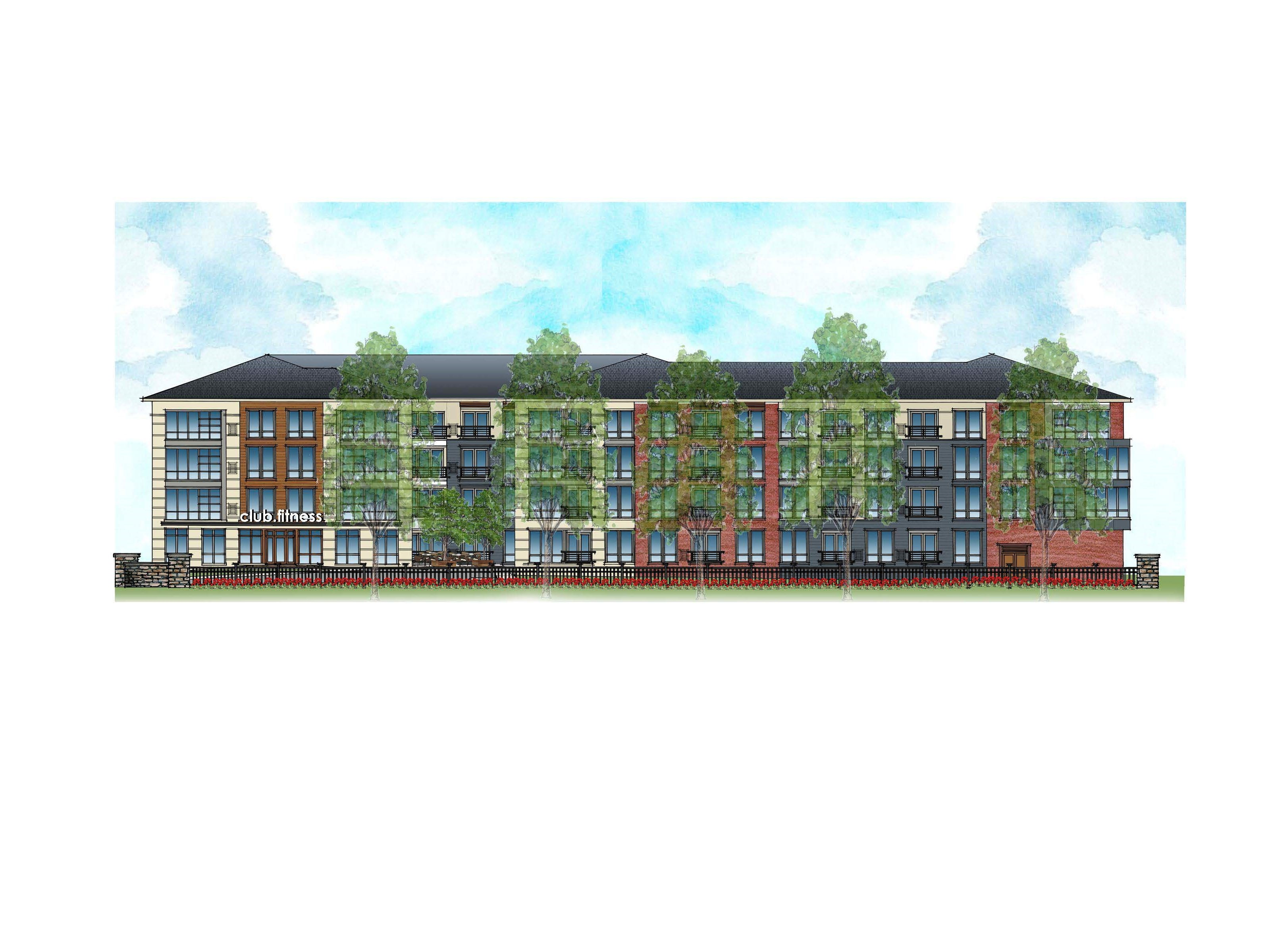 A rendering of The Quinn at Sleepy Hollow in Plainfield.