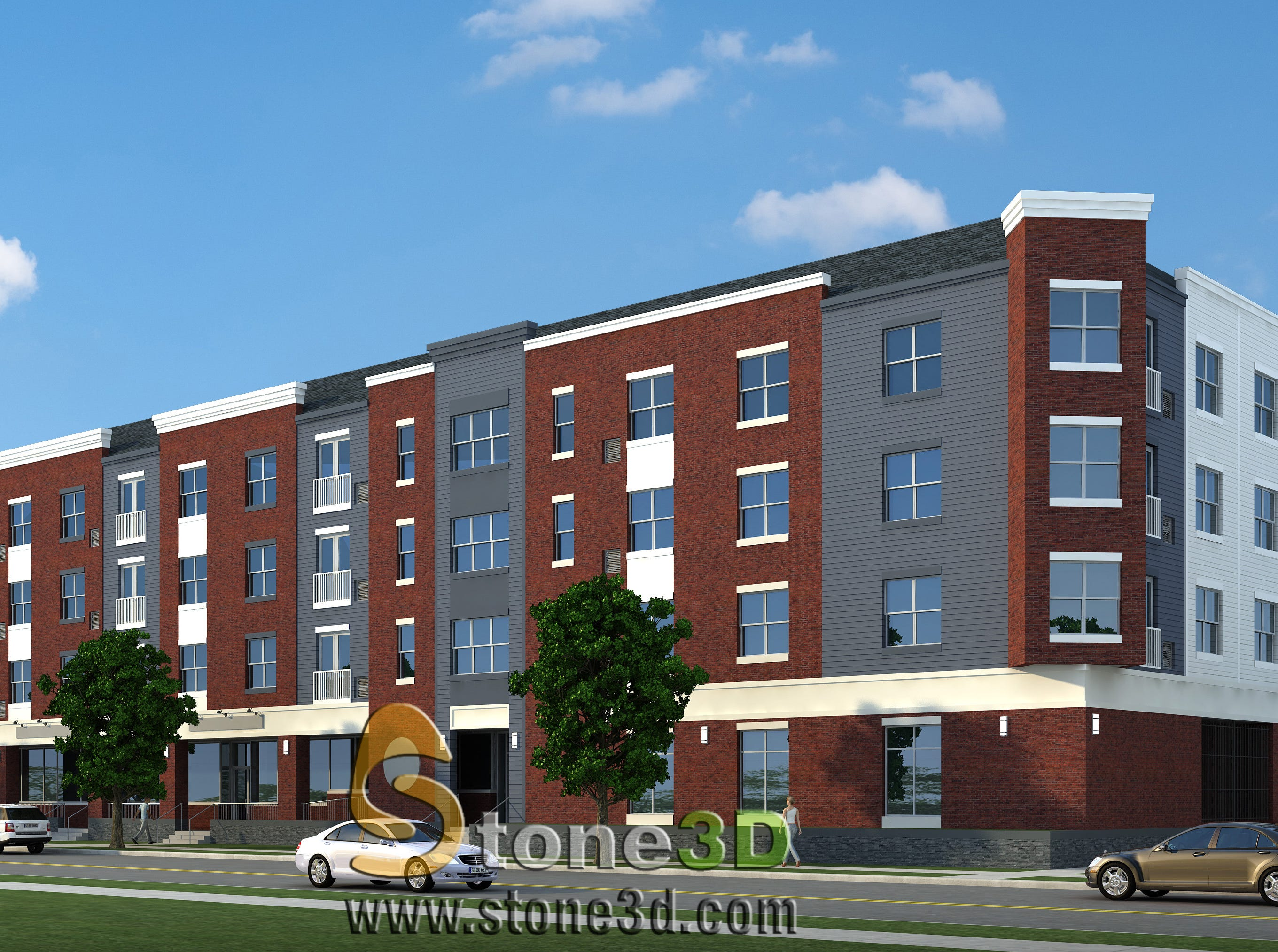 Rendering of 829 South Avenue redevelopment site