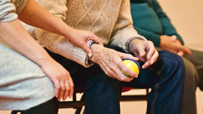 Currently, there is anestimated 1.75 million people in the stateof New jersey providing varying degrees of uncompensatedcare to persons who are elderly or disabled and limited in their daily activities. Typically, these are relatives, such as sons or daughters caring for an aging parent.