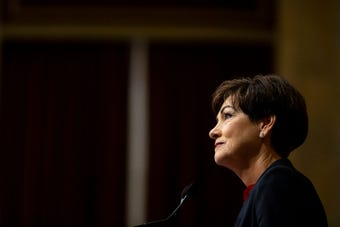 During her 2019 Condition of the State address, Kim Reynolds says her budget, submitted today, includes almost $3.4 billion in preK-12 investment.