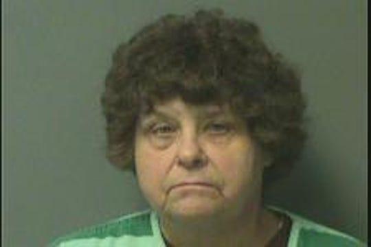 Sheryl Lynn Erdman shown in her Polk County mugshot.