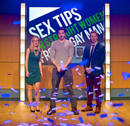 "The hit comedy ""Sex Tips for Straight Women from a Gay Man,"" returns to the Temple Theater from Jan. 22 to Feb. 10."