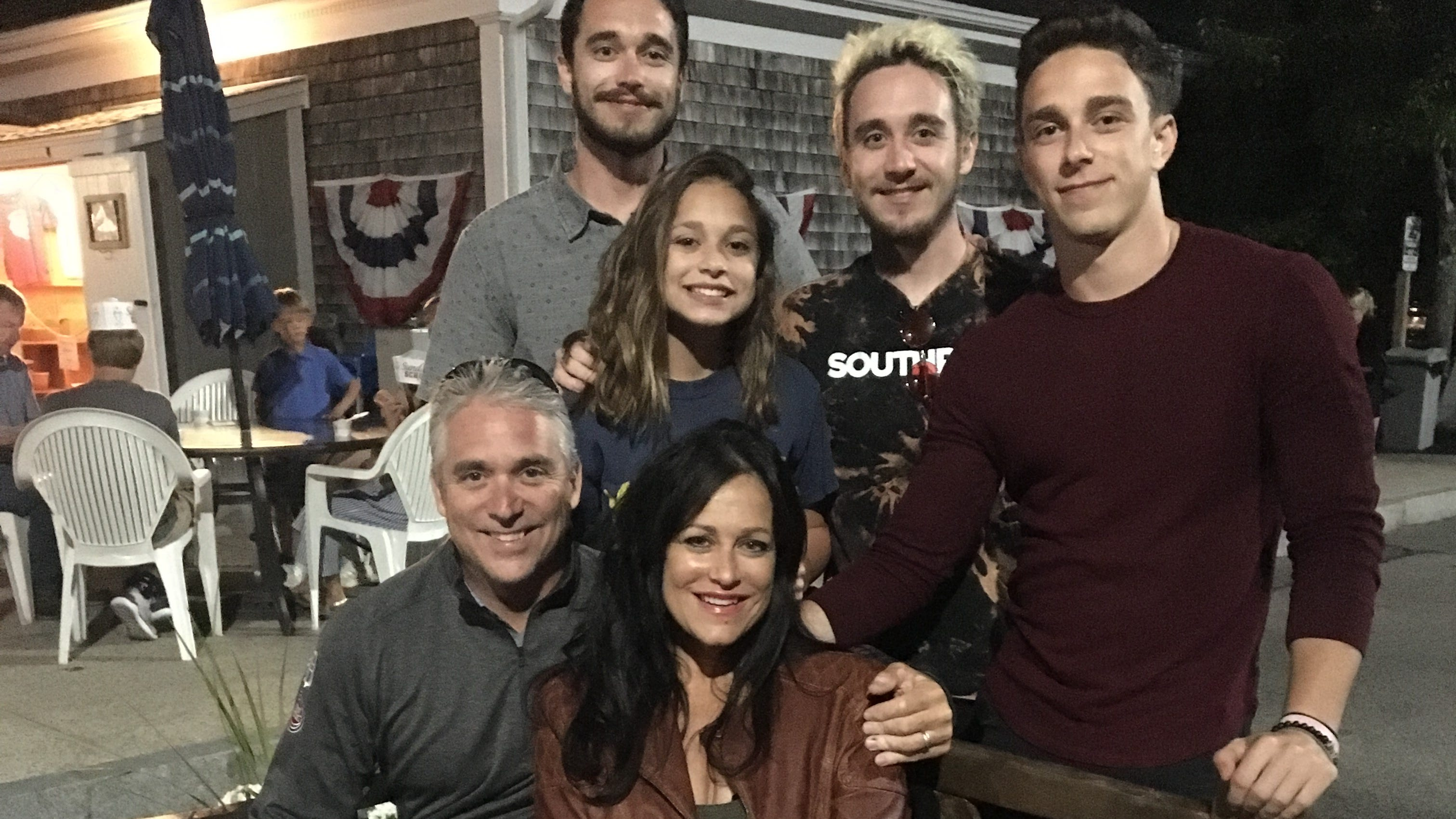 The Shepard family, left to right: Chad, 26, Sean, 23, Scott, 20, Rachel 14, with parents Matt and Lisa.