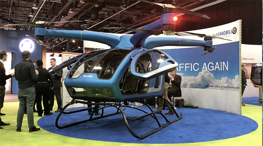 The SureFly manned drone